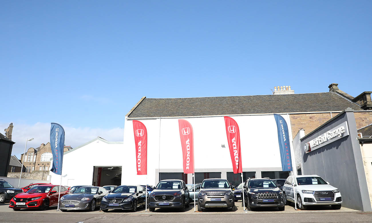 Planning project for Broughty Ferry Car Dealership